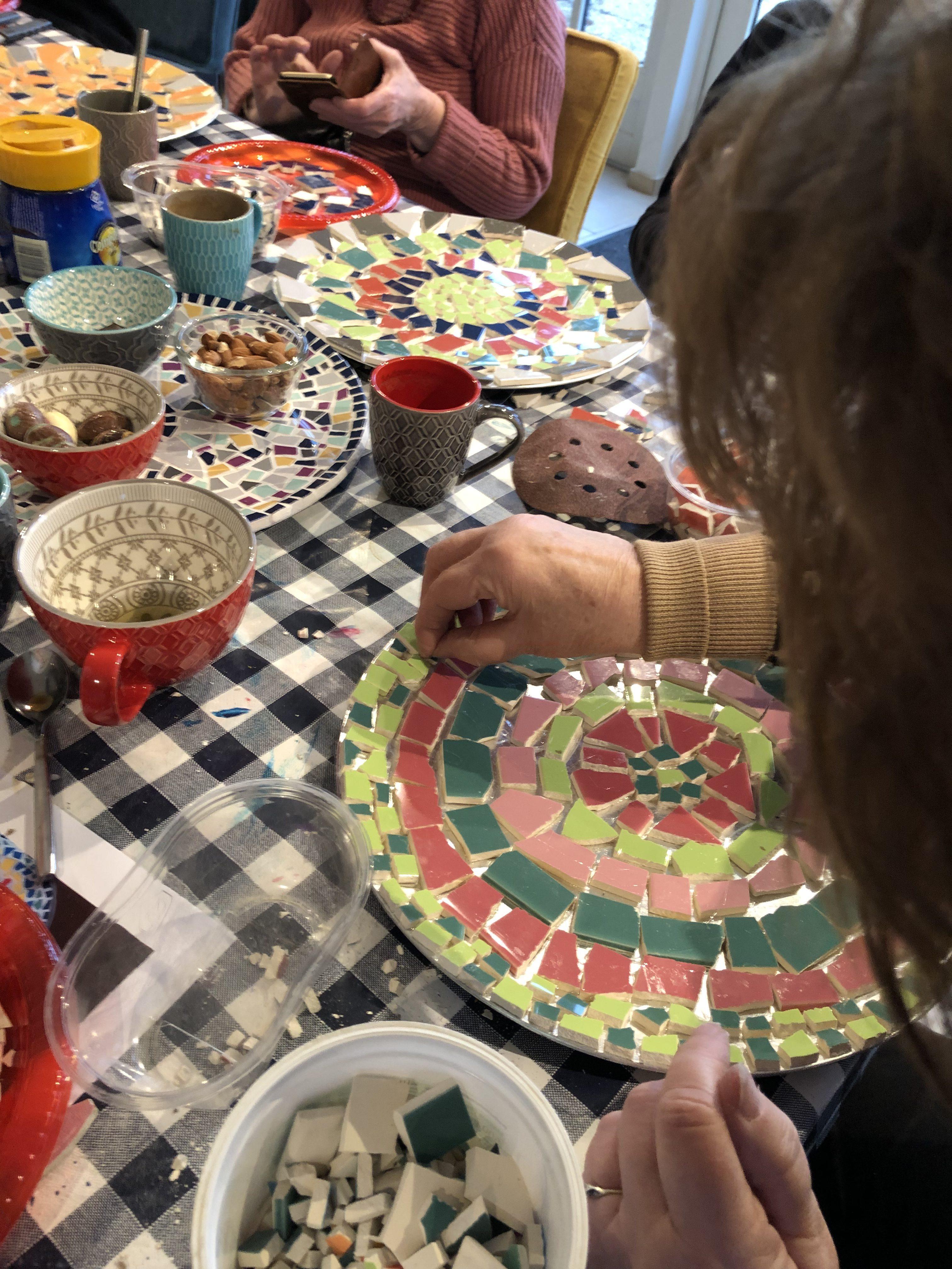Creatief in Coachen | Britta Boelrijk | workshop Mozaiek