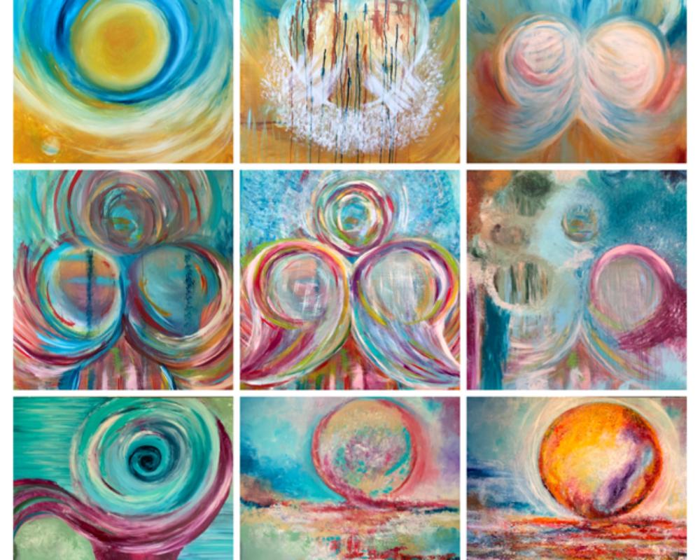 Creatief in Coachen | Britta Boelrijk | intuitief schilderen